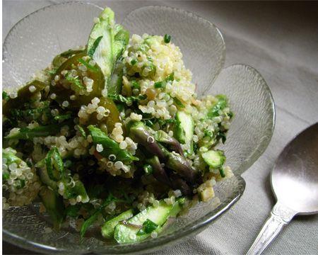 is for April: 30 Asparagus, Artichoke and Arugula Recipes