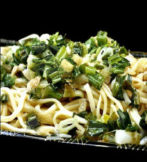 Ginger Scallion Noodles | Spice of Life | Pinterest
