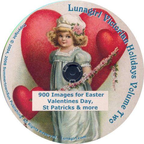 victorian valentines day clip art