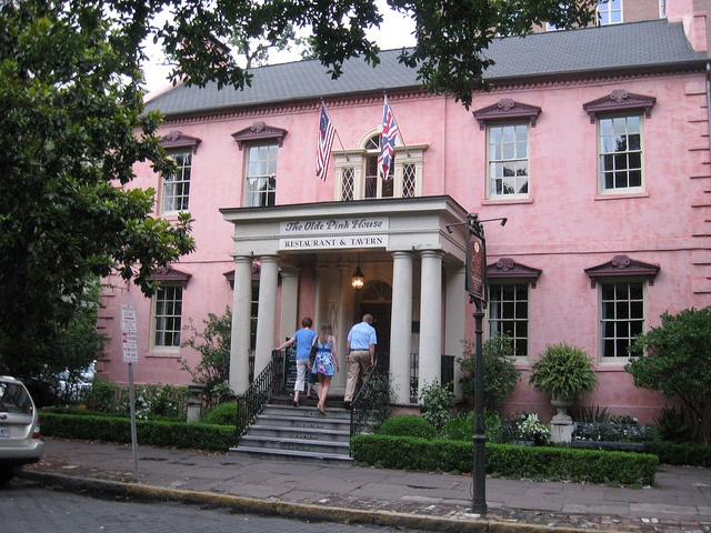 Olde Pink House Pin Pink House On Mill Lane C Bill
