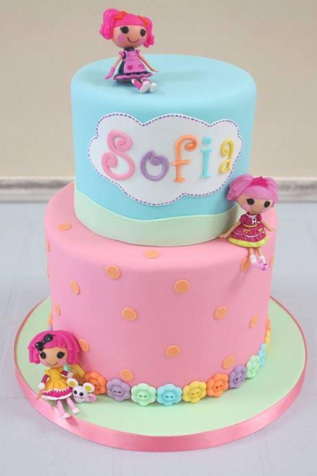 Lalaloopsy Birthday Cake!  cakes  Pinterest