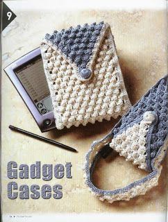 Crocheting Gadgets : ZElia Crochet: Gadget Cases my favorite crochet Pinterest