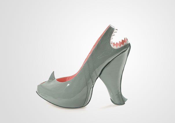 Shark shoes by Kobi Levi