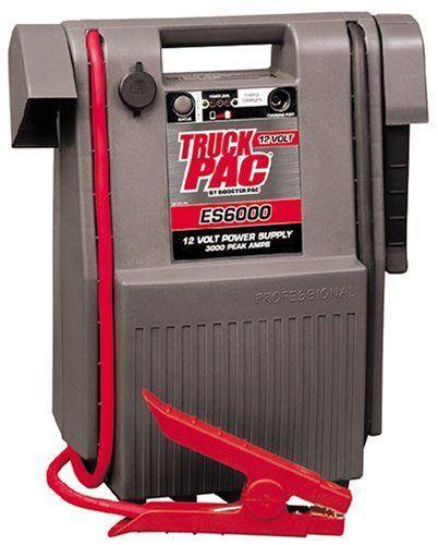 Pac 3000 peak amp 12v battery jump starter booster box heavy duty pack