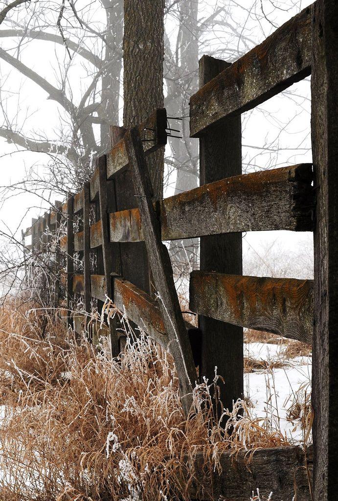 Beautiful wood farm fence farms are so interesting