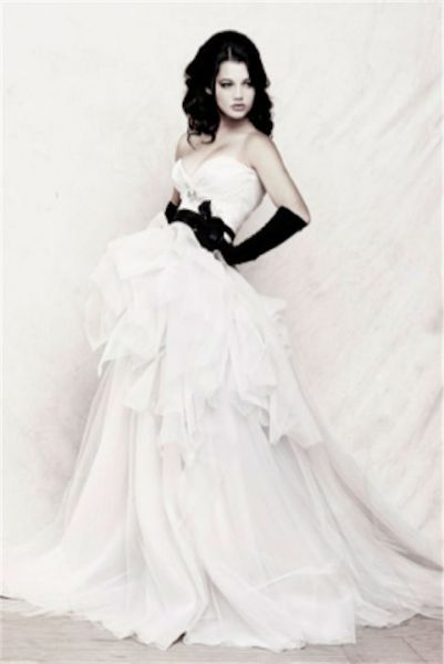 Black And White Wedding Dresses Pinterest