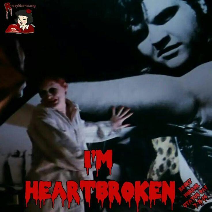 I M Heartbroken Rocky Horror Nashville Style Pinterest