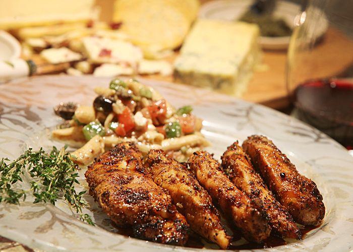 Tuscan Herb Balsamic Chicken Tenderloin | Favorite Recipes ...
