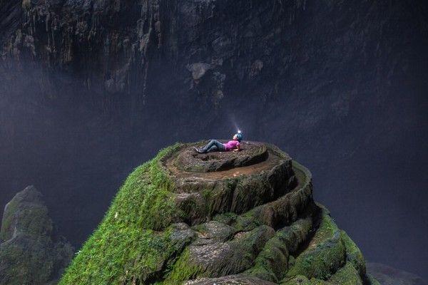 Một nơi trong động Sơn Doong