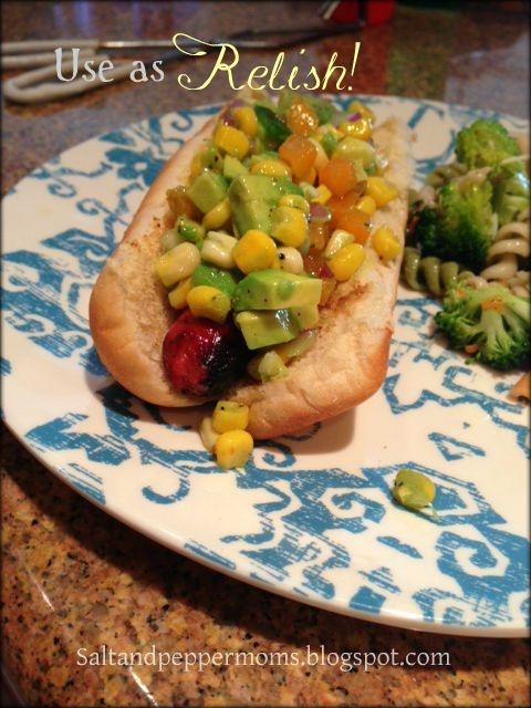 Corn Salsa- Salt and Pepper Moms | Fabulous Food | Pinterest