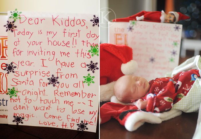 elf on the shelf letter.