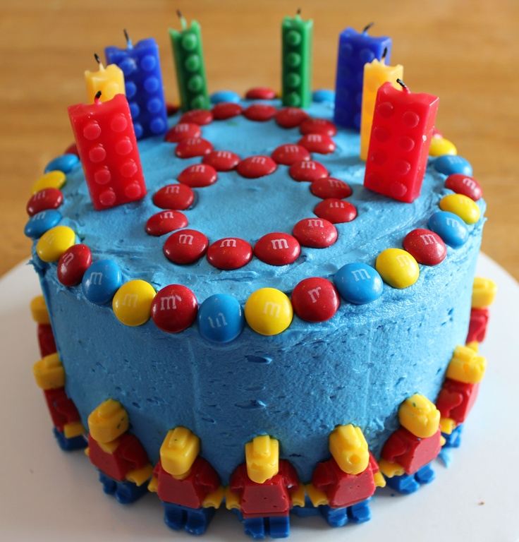 Lego Cake Ideas 49935 Easy Lego Cake Lego Party Pinterest