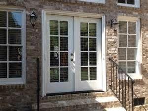 French patio doors with screens backyard again pinterest for Do french patio doors have screens