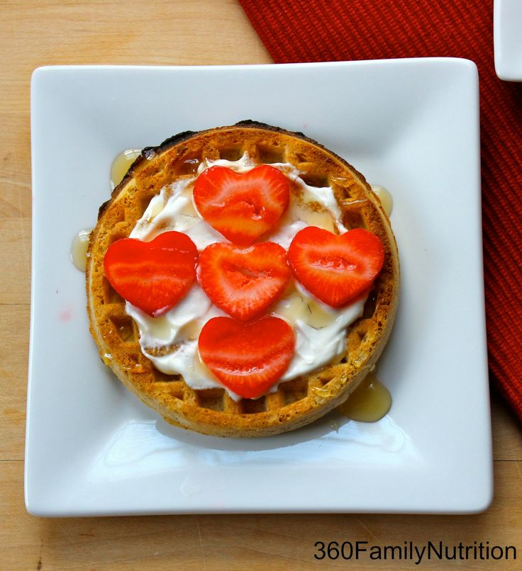 Honey Yogurt Waffle. Waffles can be part of a healthy diet when ...