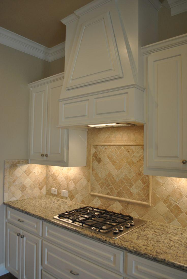 Tumbled Marble Kitchen Backsplash Home Sweet Home Pinterest