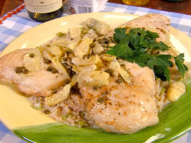 Lemon Chicken Breasts With Capers Recipe — Dishmaps