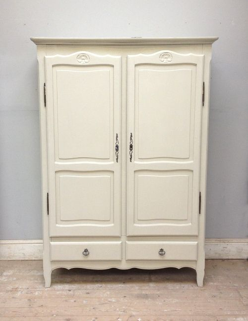 Small Louis Style Armoire Wardrobe Home Bedroom