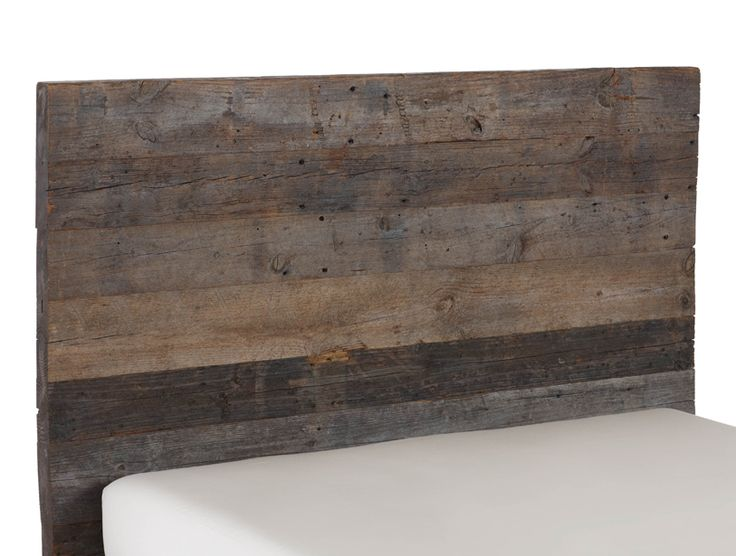 Barnwood Bed Headboard  Important Health articles  Pinterest