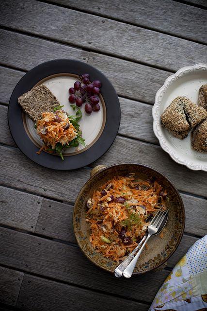 Carrot & Fennel Salad | salads+sides | Pinterest