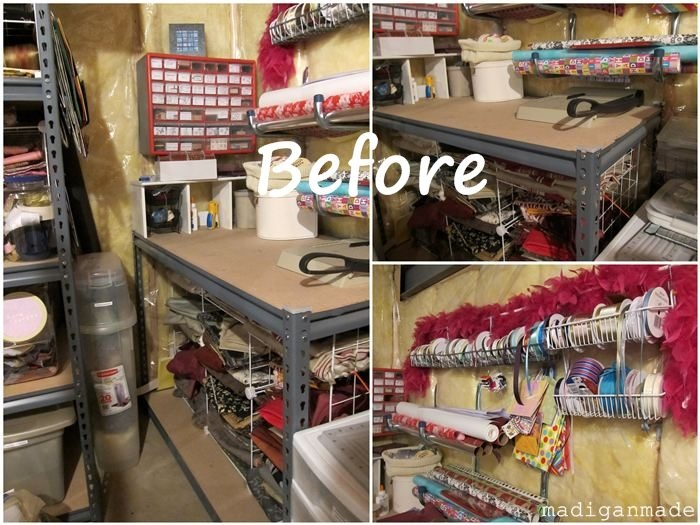 my colorful ombre basement craft storage i am glad i am not the