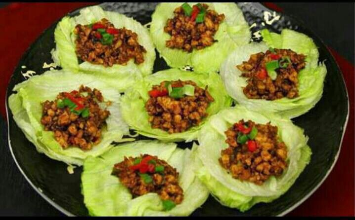 PF Changs lettuce wraps.