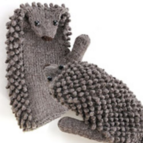 Knitting Pattern Hedgehog Mittens : Pin by Sarah Davey on yarn Pinterest
