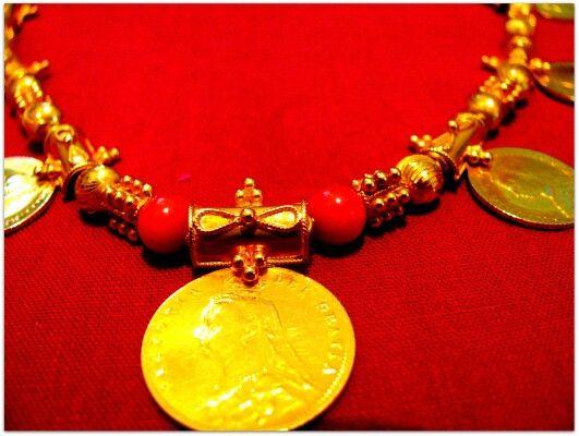 Galsari Goan Gold Pattern Pinterest