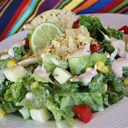 Avocado-Corn Salad with Creamy Salsa Dressing | Recipe