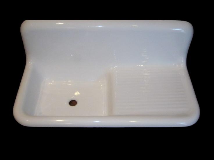 Drainboard Kitchen Sink : Reproduction Drainboard Sinks 23 S 6th Kitchen Pinterest