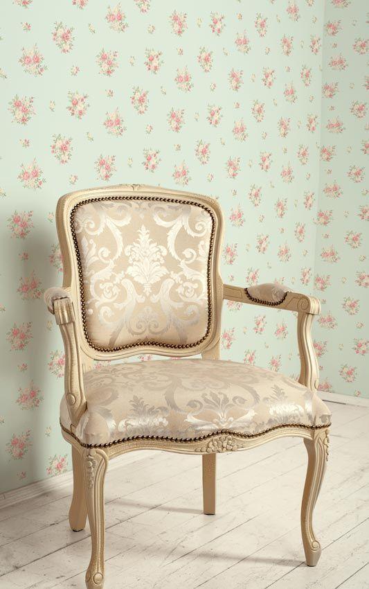 Essener Tapeten Retro In : Essener Tapeten-Import – Produkte: Floral Themes vintage wallpapers
