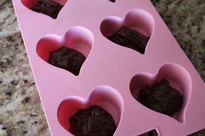 valentine heart chocolate