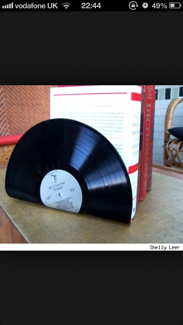 crafts with old records artsy things pinterest