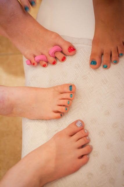 Pedicure For Kids : Spa Day Birthday Perfect 10 My Insanity newhairstylesformen2014.com