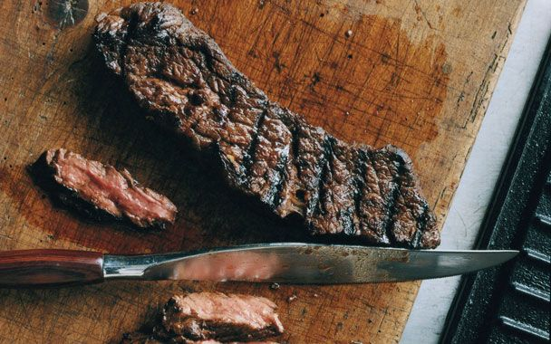 Grilled Marinated Sirloin Flap Steaks We make this super-easy dish all ...