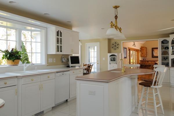 All #white kitchen