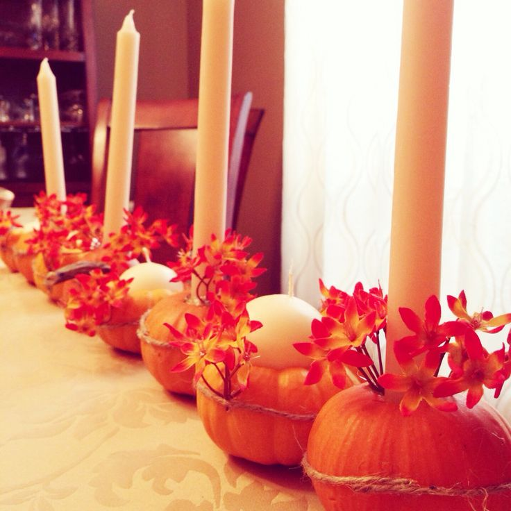 How to Make Pumpkin Candles for Thanksgiving