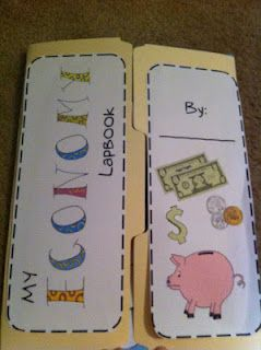 social studies lesson plan on consumers and types of resources. Cute lap book