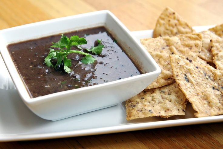 ... black bean soup, but I may try this one with canned black beans