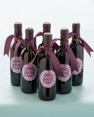 Mini wine bottle favors aroura39s wedding ideas pinterest for Mini wine bottle wedding favors