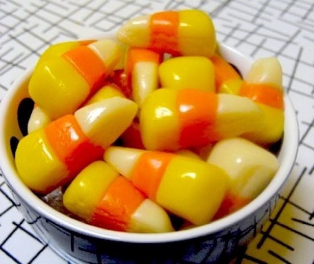 Vegan Homemade Candy Corn | cooked | Pinterest