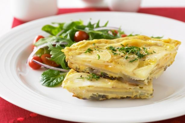 Spanish omelette by Steve Brown Photography on Getty Images