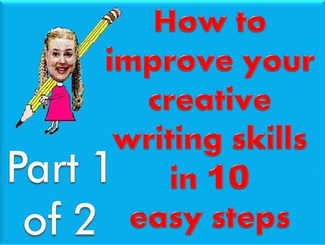 methods to improve creative writing How to teach writing direction as they write not to mention improve the quality of their ideas where we share more about creative, non-boring ways to.