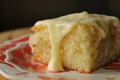 ... The Cake Slice Bakers - April 2013: Lemon and Almond Streamliner Cake