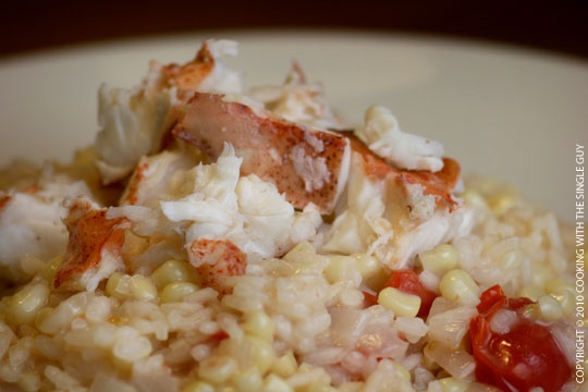 lobster risotto | New England/Maine/Seafood Buffet Dinner | Pinterest