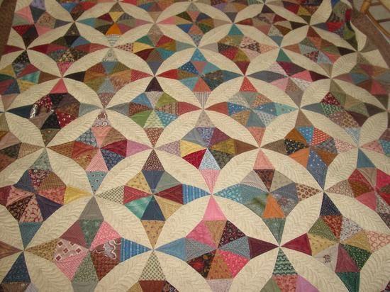 Isosceles kaleidoscope quilt