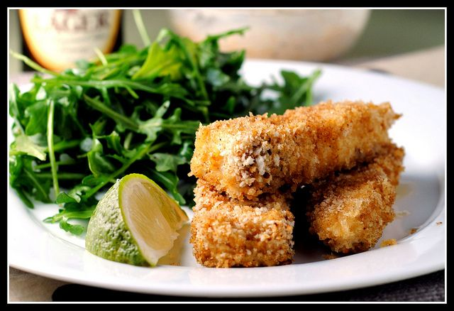 Fancy Fish Sticks | Food. Healthy & Sinfully Delicious. | Pinterest