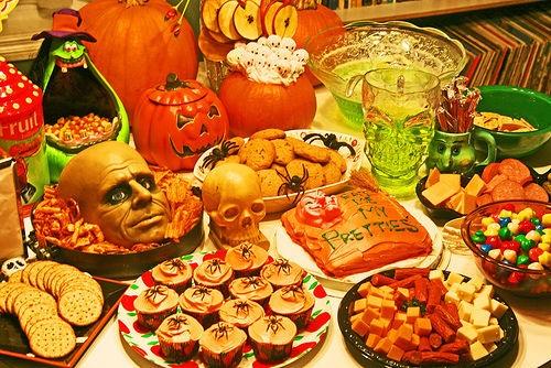 halloween food buffet - Halloween Buffet Food Ideas