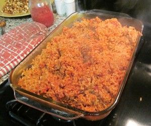 Baked Spanish Brown Rice. The BEST spanish rice ever and it is brown ...