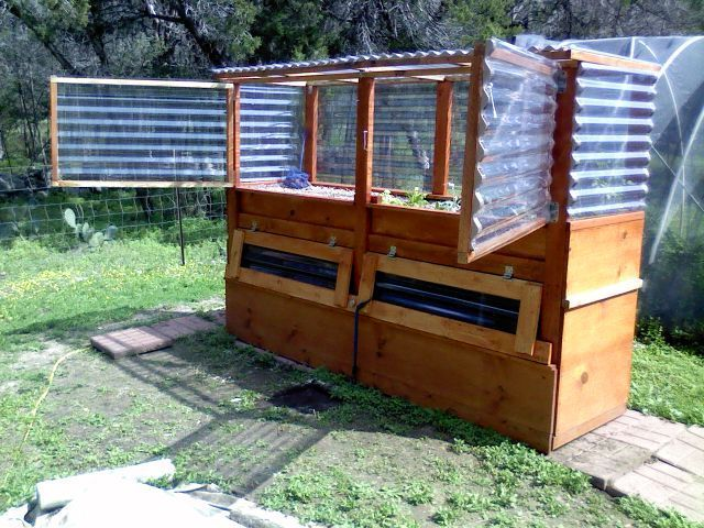Backyard Aquaponics Greenhouse : ap grow bed ideas  Aquaponics  Pinterest