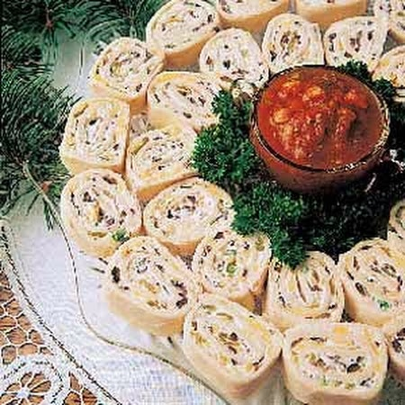 Appetizer Tortilla Pinwheels Recipe | Yummy food | Pinterest